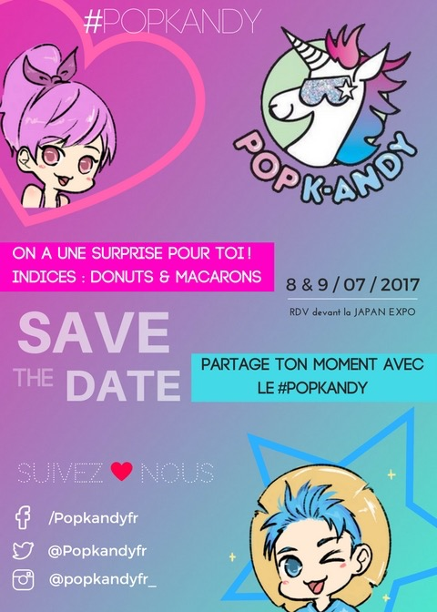 Pop k andy x japan expo 2017 pop k andy - Date japan expo 2017 ...
